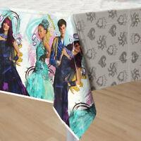 Disney Descendants 2 Table Cover Plastic Tablecloth 54 x 96  Party Decoration