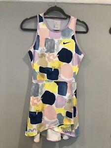 Beautiful Multicoloured Nike Tennis Dress Size S