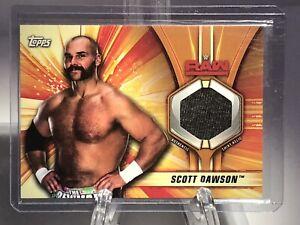 WWE 2019 Topps Scott Dawson Authentic Worn Shirt Relic Card 91/99 RARE!!