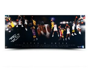"Shaquille O'Neal Signed Autographed 36X15 Photo ""Alpha and Omega"" LSU #/75 UDA"