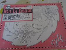 ANCIEN ALBUM POUR LE TROUSSEAU TOUTE LA BRODERIE N°101   ANNE 1962