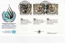 United Nations 1989 Human Rights Series Unadressed(1) FDC