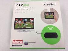 Belkin @TV Plus Digital HD Media Live Remote Wifi TV Streamer Device G1V1000 NEW