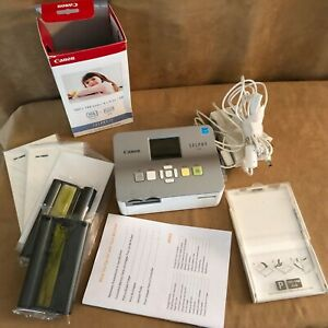 Canon Selphy CP780 Compact Digital Photo Printer with Accessory Bundle EUC