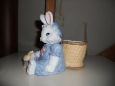 NEW HOLLAND FLORAL INC.  Easter Bunny Rabbit Planter Vase