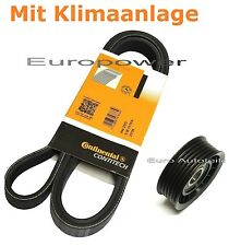Keilrippenriemen + Spannrolle OPEL OMEGA B 2.5/2.6/3.2 V6