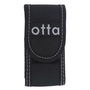 Otta Folding Knife Pouch Sheath in Black Ballistic Nylon