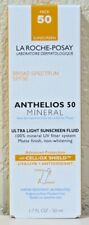 LA ROCHE-POSAY Anthelios 50 Mineral Ultra Light Sunscreen Fluid 1.7oz (50ml) NEW