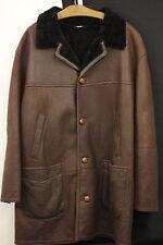 Christ German Leather Fashion Herrenjacke Lammfell Braun