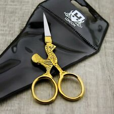 Golden Handle Stainless Steel Made Nail & Cuticle Scissor With.For All Type Nail