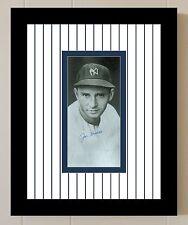 Joe Gordon Signed PSA/DNA LOA 8X10 Photo Auto Autographed Framed & Matted COA