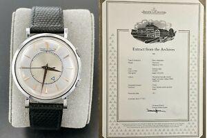 Vintage 1951 Jaeger Lecoultre Memovox Alarm Watch Ref. 3151 Cal P489 w/ Archives