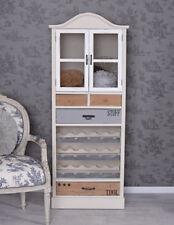 Cabinet Wine Rack Cottage Shelf Wood Melina Pantry