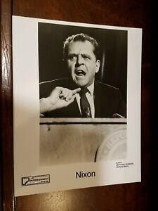 Nixon - 4 original press photos - Anthony Hopkins, James Woods, Joan Allen