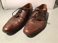 Reiss men's brown Derby shoes size UK 8 EUR 42