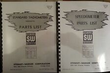 Stewart Warner Speedometer & Tachometer Parts & Service 3 manuals
