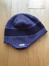 Columbia Lined Beanie Hat Size 0/S Unisex Purple 30% Wool EUC