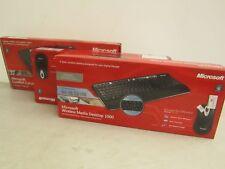 MICROSOFT Wireless 800 ottico Desktop Tastiera E Mouse Ottico Nuovo in Scatola