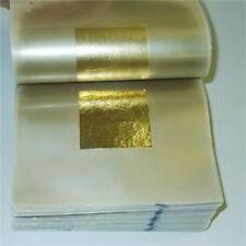 24ct Gold Leaf 100 Genuine 80 Sheets