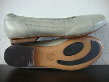BELSTAFF DANCE LADY Ballerinas Shoes Schuhe Damen Leder Acquamarine Gr.37 NEU