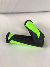 Scott USA Duece ATV Grips For Thumb Throttle Black/Green Watercraft Handlebar