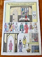 Robert McQuinn Art Paper Doll Theatre The Delineator December 1918 rare