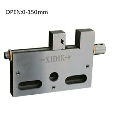 """CNC Wire EDM Vise  6"""" Opening Stainless Steel Hardened Fixture Precision Jig"""