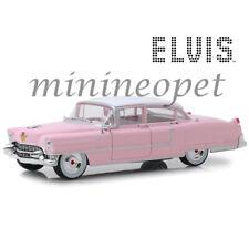 GREENLIGHT 84092 ELVIS PRESLEY 1955 CADILLAC FLEETWOOD SERIES 60 1/24 PINK