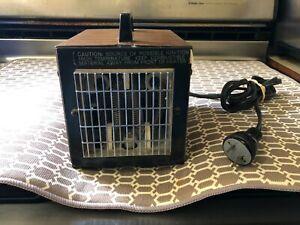 VTG Big Heat Space Heater 1500/1200 Watt Model 6200 - Tested BUY IT NOW !