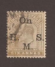 India 1902 SG O62 (used) George V