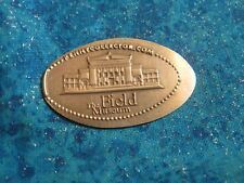The Field Museum Chicago Copper Elongated Penny Pressed Smashed 14