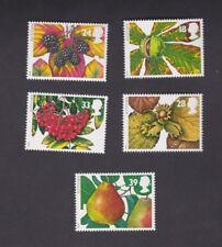 1993 Europa SG1779/83, Stamp Set 5 The Four Seasons. Autumn, Fruits & Leaves MUH