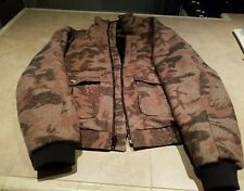 Weatherby camo wool Jacket, sz Medium, preowned