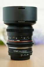 Rokinon 14mm T3.1 Cine DS ED AS IF UMC Lens for Canon EF Mount w/M43 Adapter
