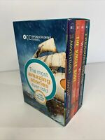 Oxford Children's Classics World of Adventure Box Set Amazing Stories x4 Books