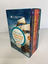 Oxford Children's Classics World of Adventure Box Set Amazing Stories Books x4