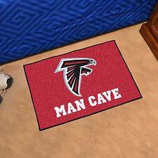 """Atlanta Falcons Man Cave 19"""" X 30"""" Starter Area Rug Mat"""