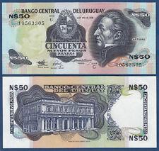 50 uruguay sind pesos (1989) p.61a UNC