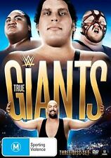 WWE Presents - True Giants (DVD, 2015, 3-Disc Set)
