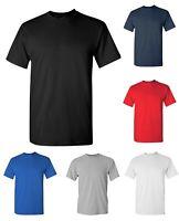 Gildan Mens Heavy 100% Cotton Bulk Plain Adult T-Shirt Tee 5000