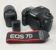 Canon EOS 7D 18.0MP Digital Camera Body - 7K Clicks!