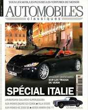 AUTOMOBILES CLASSIQUES n°196 06/2010 GALLARDO 570-4 MASERATI GRAN CABRIO ALFA 6C