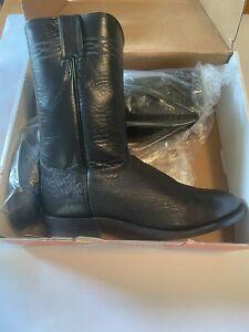justin boots 10.5 d