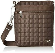 Lug Travel SKIPPER Small Pouch Bag Lightweight  Crossbody Gift Chocolate BROWN