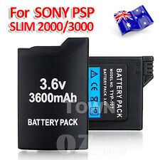 3600mAh Rechargeable Replacement For Sony PSP Battery SLIM 2000/3000 Console