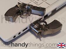 Novedad Metal USB Flash Drive de Pistola Portátil Pen Drive Memory Stick Regalo