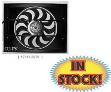 """Cooling Components 19""""H X 26""""W  2-Speed Electric Fan Shroud Combo CCI-1780"""
