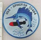 US NAVY USS SPIKEFISH SS-404 SUBMARINE PATCH (Blue Edge) Post WW2 Made