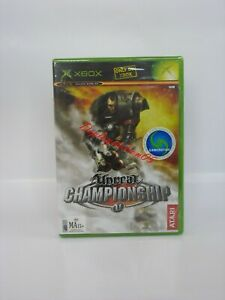 UNREAL CHAMPIONSHIP XBOX Original Brand New and sealed.(100% PAL GAME AUS ).