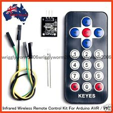 Infrared Wireless Remote Control Kits For Arduino Projects - AVR PIC - Brand New